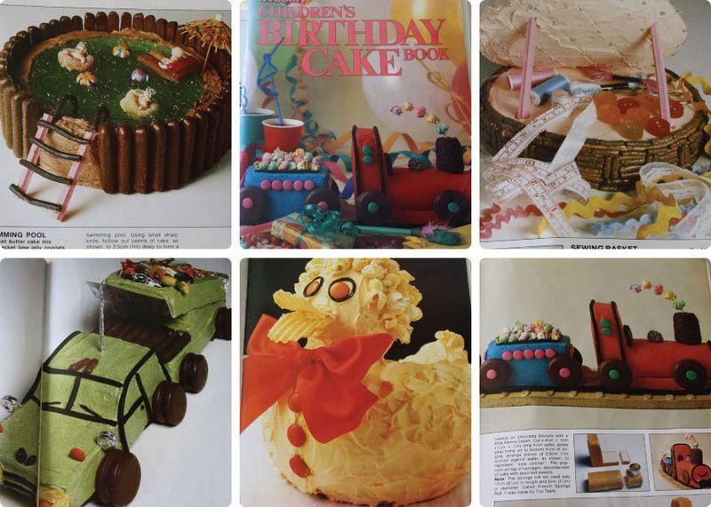 Womens Weekly Cake Book